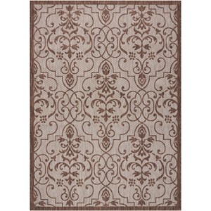 "Nourison Country Side 7'10"" X 10'6"" Natural              Rug"