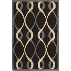 Nourison Decor 8' x 10' Black Area Rug