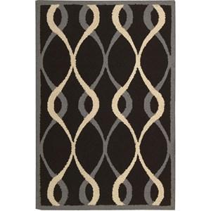 Nourison Decor 8' x 10' Black Area Rug