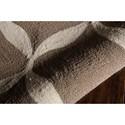 Nourison Decor 5' x 7' Taupe White Area Rug