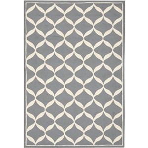 Nourison Decor 5' x 7' Slate White Area Rug