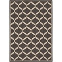 "Nourison Decor 2'6"" x 3'10"" Grey White Area Rug - Item Number: 32321"