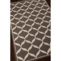 Nourison Decor 5' x 7' Grey White Area Rug