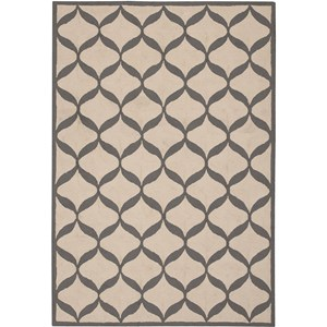 "Nourison Decor 2'6"" x 3'10"" White/Light Grey Area Rug"