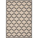 "Nourison Decor 2'6"" x 3'10"" White/Light Grey Area Rug - Item Number: 32324"