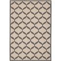 Nourison Decor 5' x 7' White/Light Grey Area Rug - Item Number: 32325