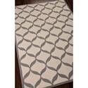 Nourison Decor 5' x 7' White/Light Grey Area Rug