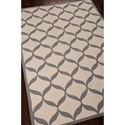 Nourison Decor 8' x 10' White/Light Grey Area Rug