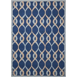 Nourison Decor1 5' X 7' Navy Rug
