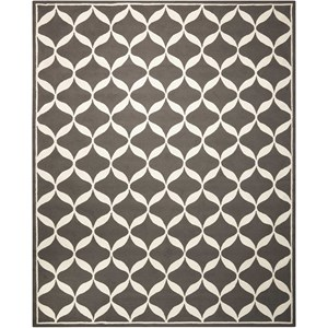 Nourison Decor1 8' X 10' Grey/White Rug