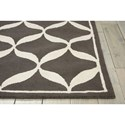 Nourison Decor1 8' X 10' Grey/White Rectangle Rug