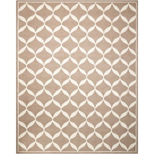 Nourison Decor1 8' X 10' Taupe/White Rug