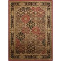"Nourison Delano 5'3"" X 7'3"" Multicolor Rug - Item Number: DEL03 MULTI 53X73"