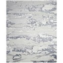 "Nourison Divine 2'3"" x 3' Slate Rectangle Rug - Item Number: DIV04 SLATE 23X3"