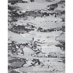 "Nourison Divine 9'9"" x 13'9"" Smoke Rectangle Rug"