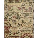 "Nourison Dune 5'6"" x 8' Earth Area Rug - Item Number: 12124"