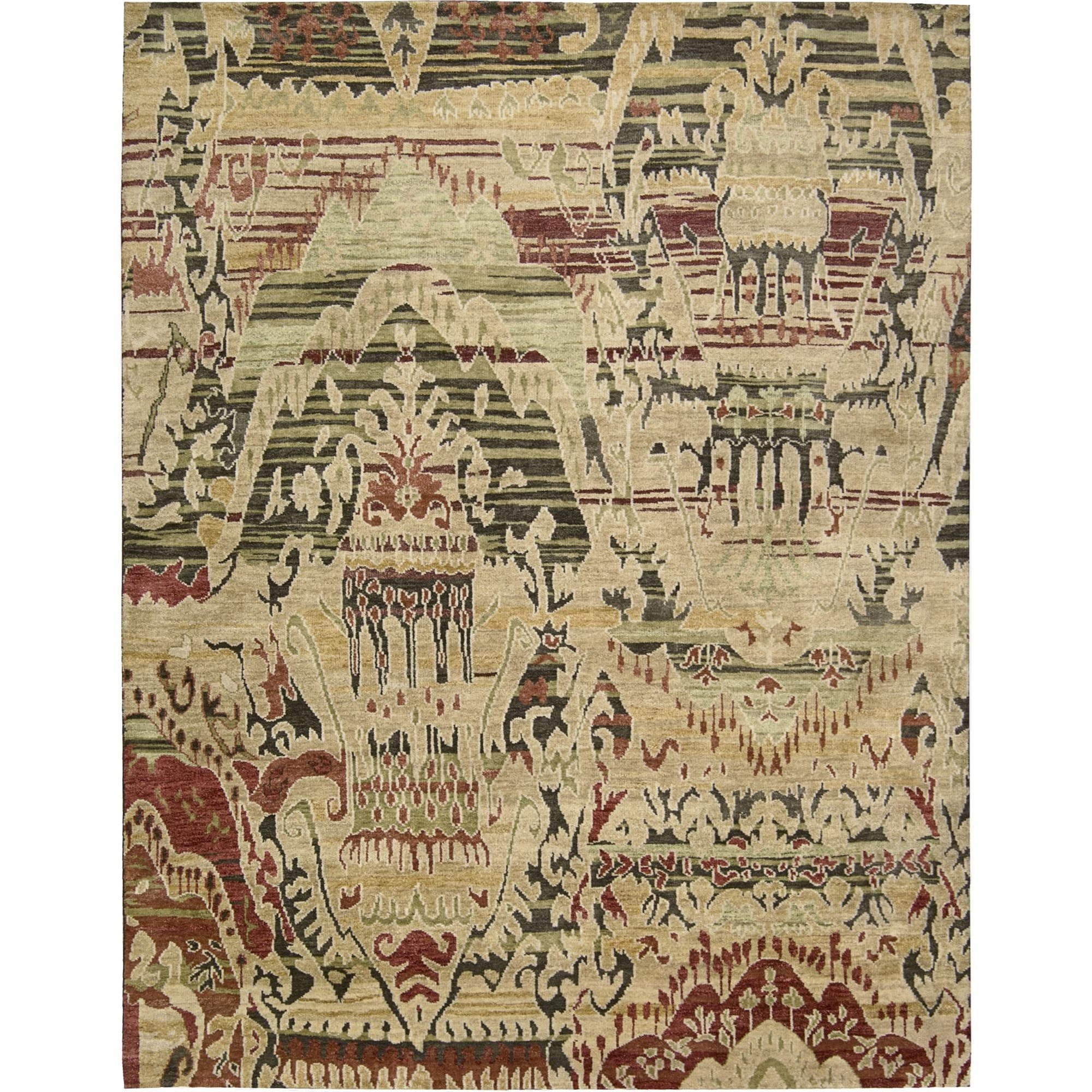 "Nourison Dune 8'6"" x 11'6"" Earth Area Rug - Item Number: 12128"