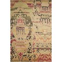 "Nourison Dune 5'6"" x 8' Earth Rectangle Rug - Item Number: DUN01 EARTH 56X8"