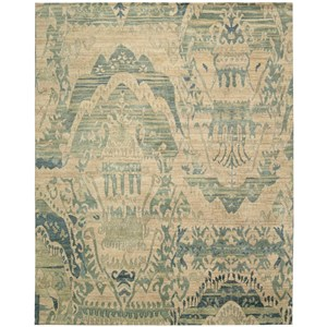 "Nourison Dune 7'9"" x 9'9"" Sea Rectangle Rug"