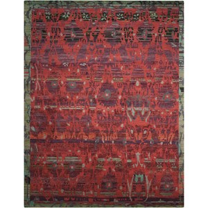"Nourison Dune 8'6"" x 11'6"" Pomegranate Rectangle Rug"