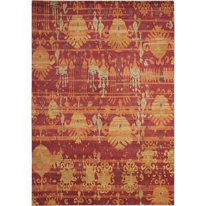 12' x 15' Flame Rectangle Rug