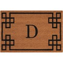 Nourison Elegant Entry 2' x 3' Natural Rectangle Rug - Item Number: EECMD NAT 2X3