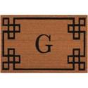 Nourison Elegant Entry 2' x 3' Natural Rectangle Rug - Item Number: EECMG NAT 2X3