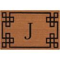 Nourison Elegant Entry 2' x 3' Natural Rectangle Rug - Item Number: EECMJ NAT 2X3