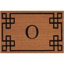 Nourison Elegant Entry 2' x 3' Natural Rectangle Rug - Item Number: EECMO NAT 2X3