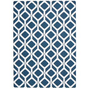 Nourison Enhance 4' x 6' Cadet Blue Rectangle Rug