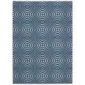 Nourison Enhance 4' x 6' Cadet Blue Rectangle Rug - Item Number: EN004 CADBL 4X6