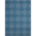 Nourison Enhance 8' x 10' Cadet Blue Rectangle Rug - Item Number: EN004 CADBL 8X10
