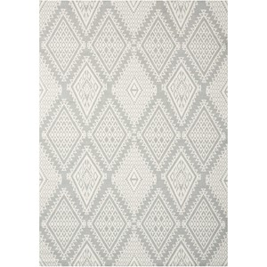 Nourison Enhance 8' x 10' Grey Rectangle Rug