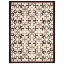 "Nourison Enhance 2'6"" x 4' Brown Rectangle Rug - Item Number: EN200 BRN 26X4"