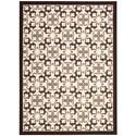 Nourison Enhance 5' x 7' Brown Rectangle Rug - Item Number: EN200 BRN 5X7