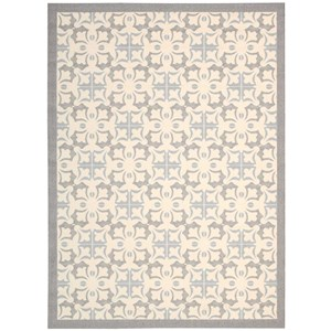 Nourison Enhance 4' x 6' Stone Rectangle Rug