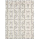 "Nourison Enhance 2'6"" x 4' Light Blue Rectangle Rug - Item Number: EN202 LTB 26X4"