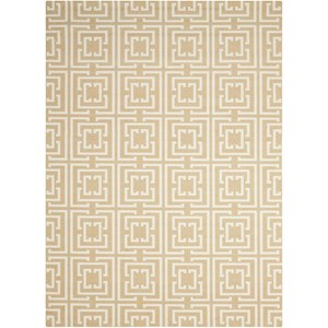 Nourison Enhance 5' x 7' Tan Rectangle Rug