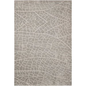 "Nourison Escalade 3'9"" x 5'9"" Granite Rectangle Rug"