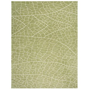 "Nourison Escalade 5' x 7'6"" Kiwi Rectangle Rug"
