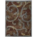 """Nourison Expressions 2' x 2'9"""" Multicolor Rectangle Rug - Item Number: XP02 MTC 2X29"""