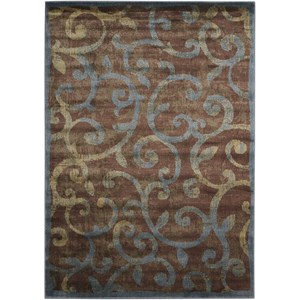 "Nourison Expressions 5'3"" x 7'5"" Multicolor Rectangle Rug"