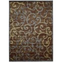 """Nourison Expressions 7'9"""" x 10'10"""" Multicolor Rectangle Rug - Item Number: XP02 MTC 79X1010"""