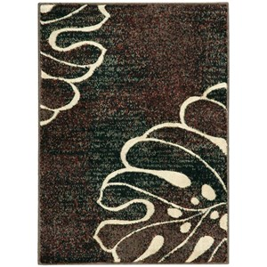 "Nourison Expressions 2' x 2'9"" Multicolor Rectangle Rug"