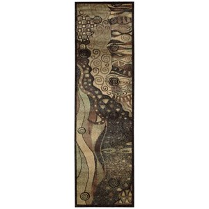 """Nourison Expressions 2'3"""" x 8' Multicolor Runner Rug"""