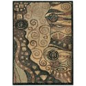 """Nourison Expressions 2' x 2'9"""" Multicolor Rectangle Rug - Item Number: XP04 MTC 2X29"""