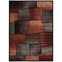 "Nourison Expressions 7'9"" x 10'10"" Multicolor Rectangle Rug - Item Number: XP05 MTC 79X1010"