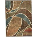 """Nourison Expressions 2' x 2'9"""" Multicolor Rectangle Rug - Item Number: XP07 MTC 2X29"""