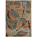 """Nourison Expressions 9'6"""" x 13'6"""" Multicolor Rectangle Rug - Item Number: XP07 MTC 96X136"""