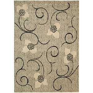 "Nourison Expressions 5'3"" x 7'5"" Ivory Rectangle Rug"